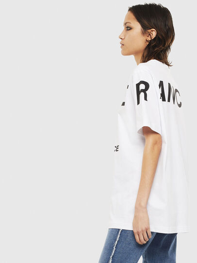 Diesel - T-JUST-T21, White - T-Shirts - Image 6