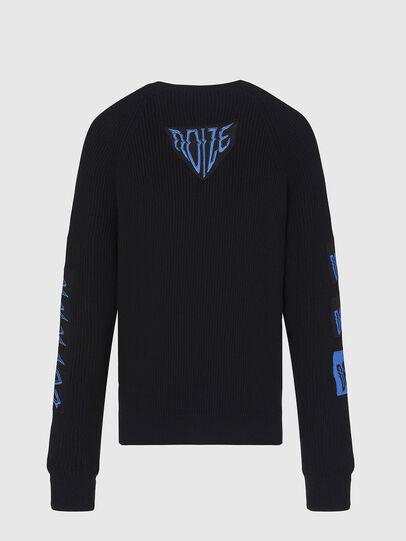 Diesel - K-SIMON, Black - Knitwear - Image 2