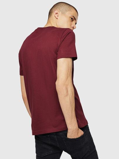 Diesel - T-DIEGO-B4, Bordeaux - T-Shirts - Image 2