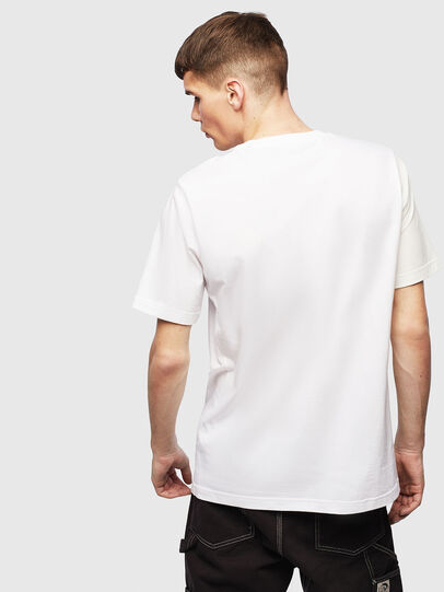 Diesel - T-RISEN, White - T-Shirts - Image 2