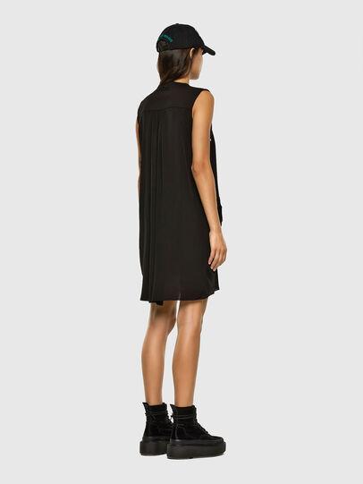 Diesel - D-EVEN-A, Black - Dresses - Image 2