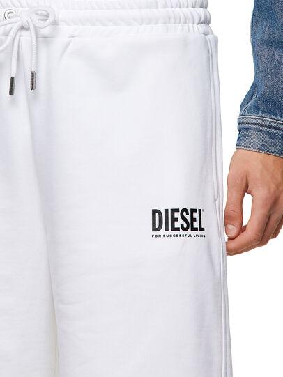 Diesel - P-CROWN-ECOLOGO, White - Shorts - Image 3