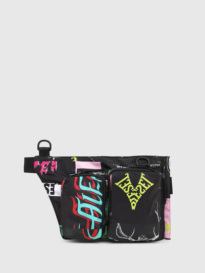Diesel - WARMY, Black - Crossbody Bags - Image 2