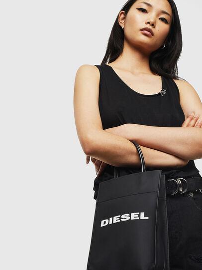 Diesel - SAKETTINO, Black - Shopping and Shoulder Bags - Image 6
