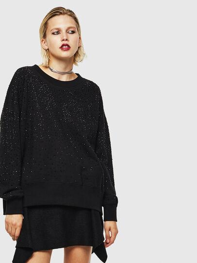 Diesel - F-MAGDA-D, Black - Sweaters - Image 1