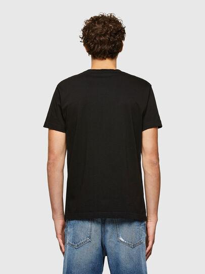 Diesel - T-DIEGOS-A7, Black - T-Shirts - Image 2