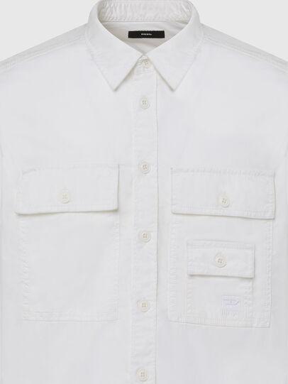 Diesel - S-ALLEN-KA, White - Shirts - Image 3