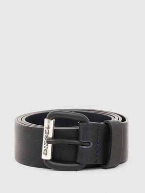 B-ZIGRA, Black - Belts