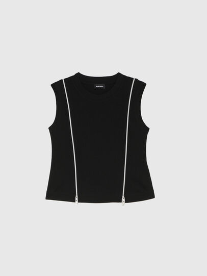 Diesel - TGARTH, Black - T-shirts and Tops - Image 1