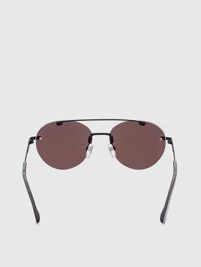 Diesel - DL0351, Black/Red - Sunglasses - Image 4