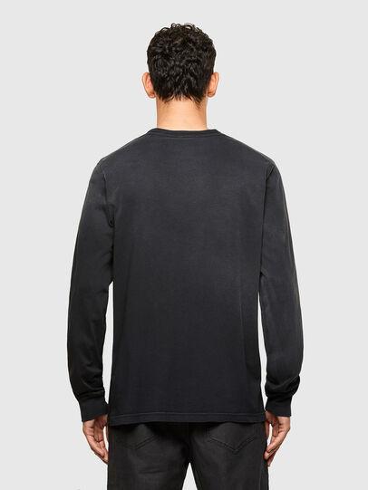 Diesel - T-JUBIND-LS, Black - T-Shirts - Image 2