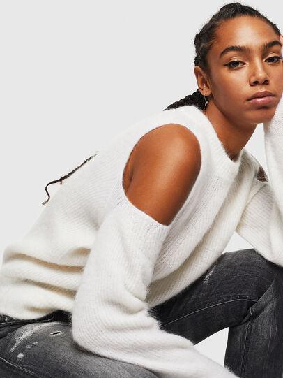 Diesel - M-LARA, White - Knitwear - Image 4
