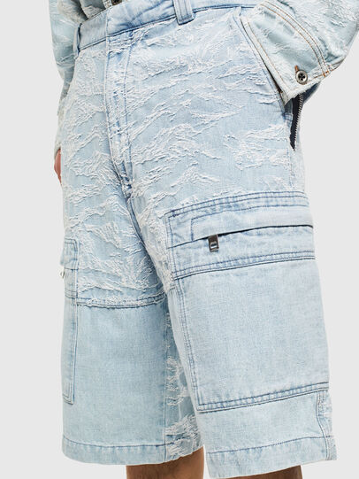 Diesel - D-LUK-SHORT, Light Blue - Shorts - Image 5