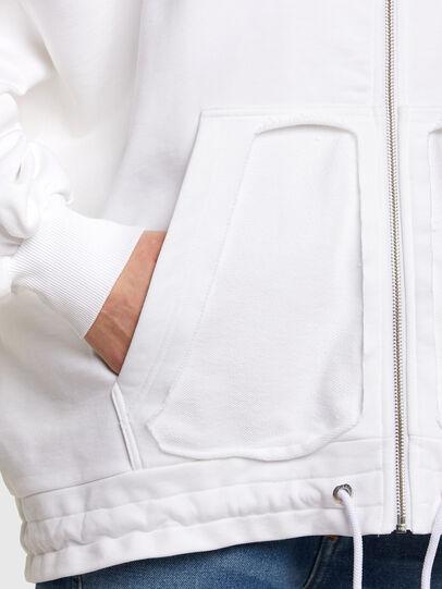 Diesel - F-BILLY-LOGO, White - Sweaters - Image 5