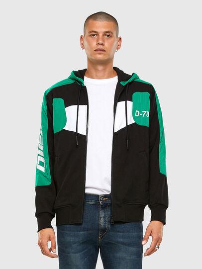 Diesel - S-JAKLER, Black/Green - Sweaters - Image 6
