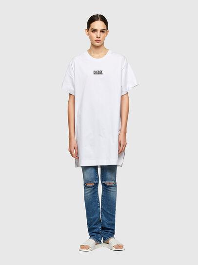Diesel - D-BOWI-SMALLOGO, White - Dresses - Image 1