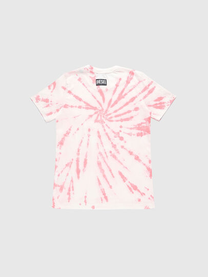 Diesel - TSILYTD, Pink/White - T-shirts and Tops - Image 2