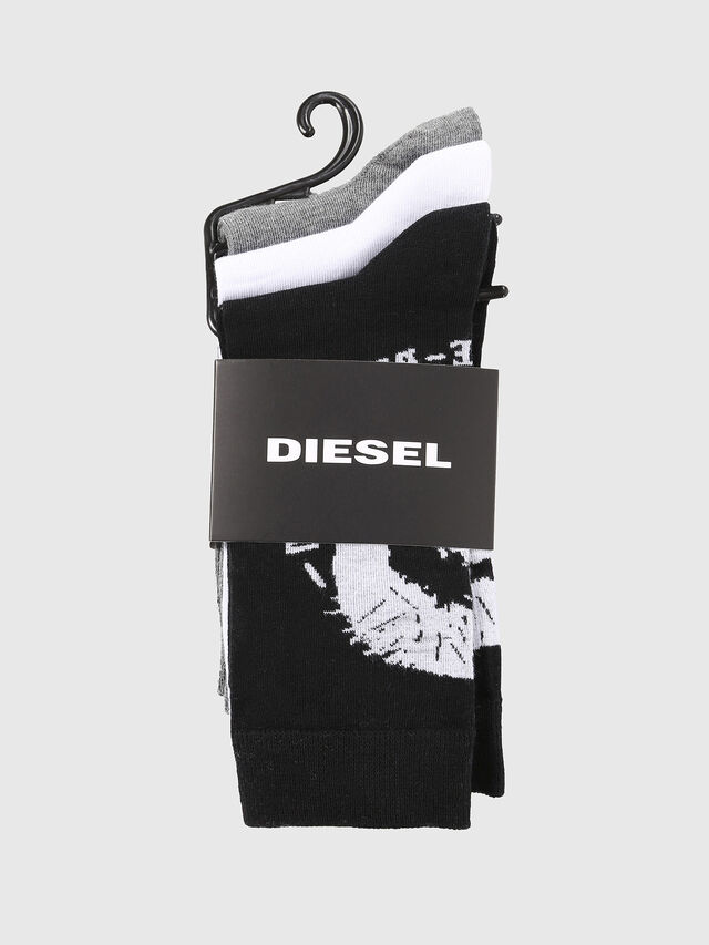 Diesel - SKM-RAY-THREEPACK, Multicolor - Socks - Image 2