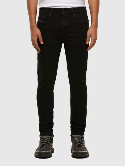 Diesel - D-Amny 009HB, Black/Dark grey - Jeans - Image 1