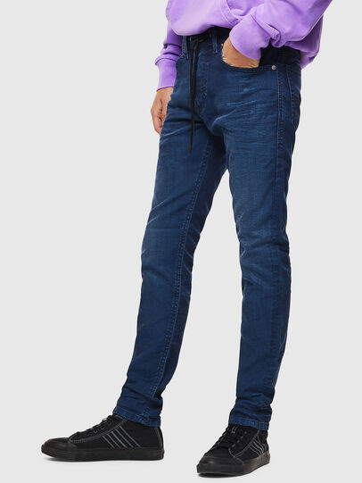 Diesel - Thommer JoggJeans 0098H, Medium blue - Jeans - Image 4