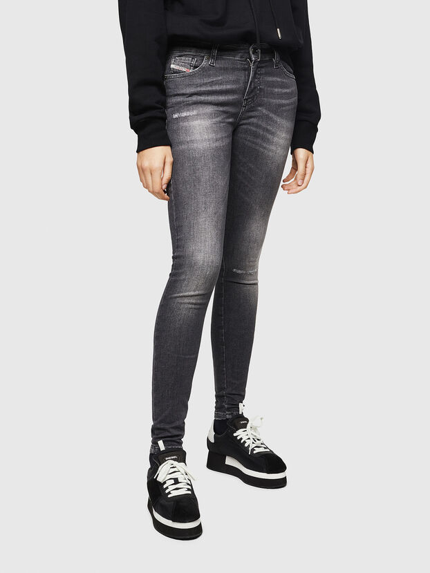 Slandy 083AJ, Black/Dark grey - Jeans
