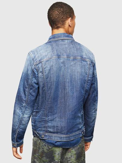 Diesel - NHILL-TW, Blue Jeans - Denim Jackets - Image 2