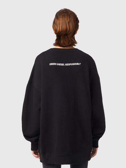 Diesel - F-GULLY-B1, Black - Sweaters - Image 2