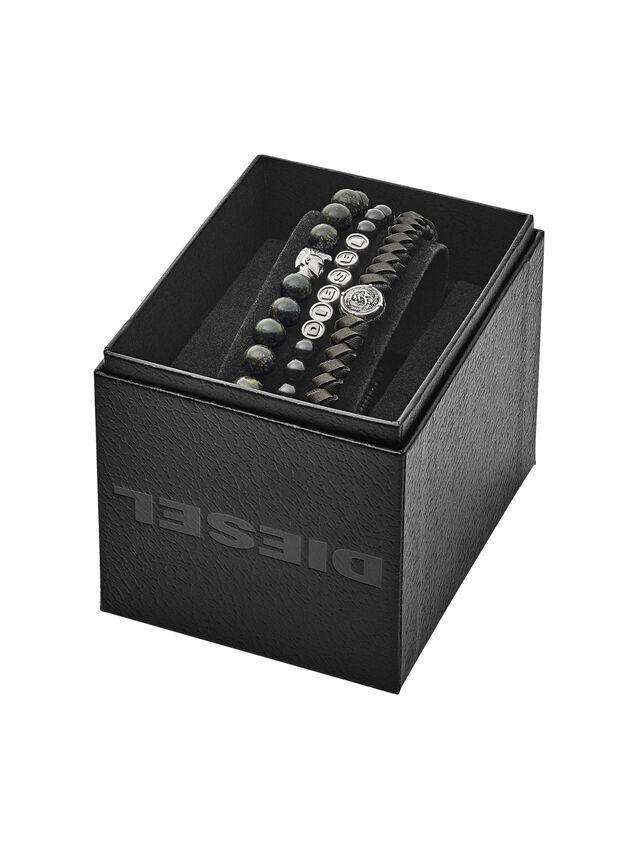 Diesel BRACELET DX1100, Black - Bracelets - Image 2