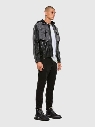Diesel - Krooley JoggJeans 069NC, Black/Dark grey - Jeans - Image 5