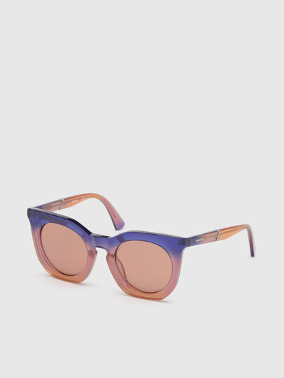 Diesel - DL0283, Violet - Sunglasses - Image 2