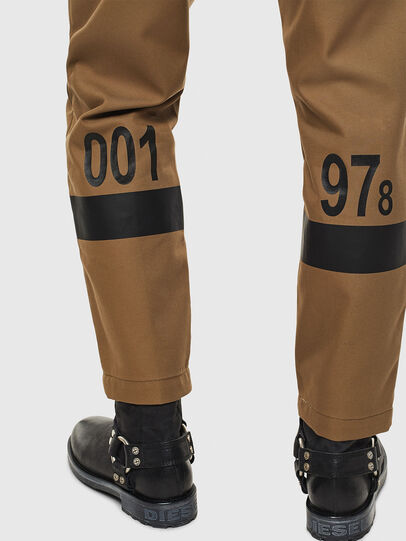 Diesel - P-KAPP, Brown/Black - Pants - Image 5
