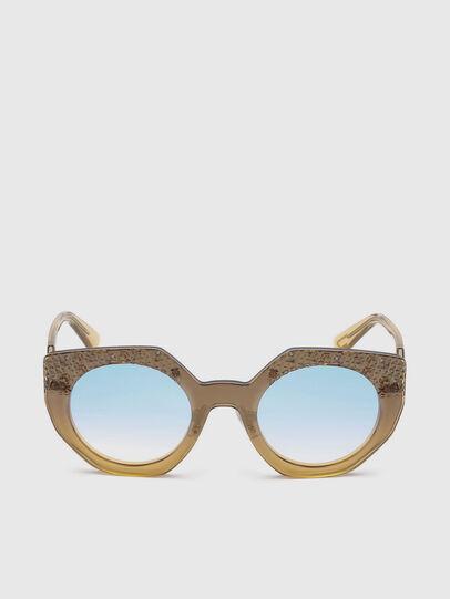 Diesel - DL0258, Honey - Sunglasses - Image 1