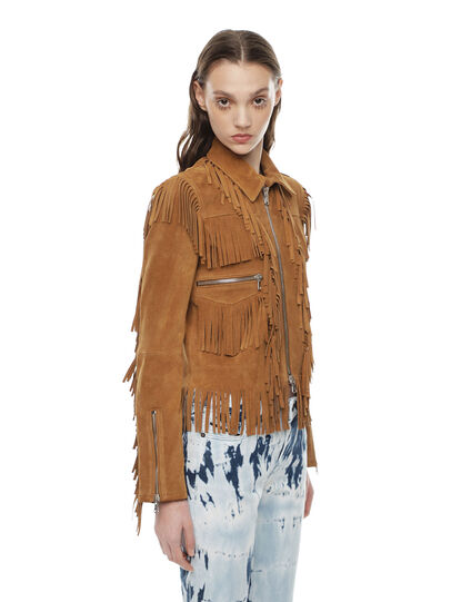 Diesel - LAUL,  - Leather jackets - Image 3