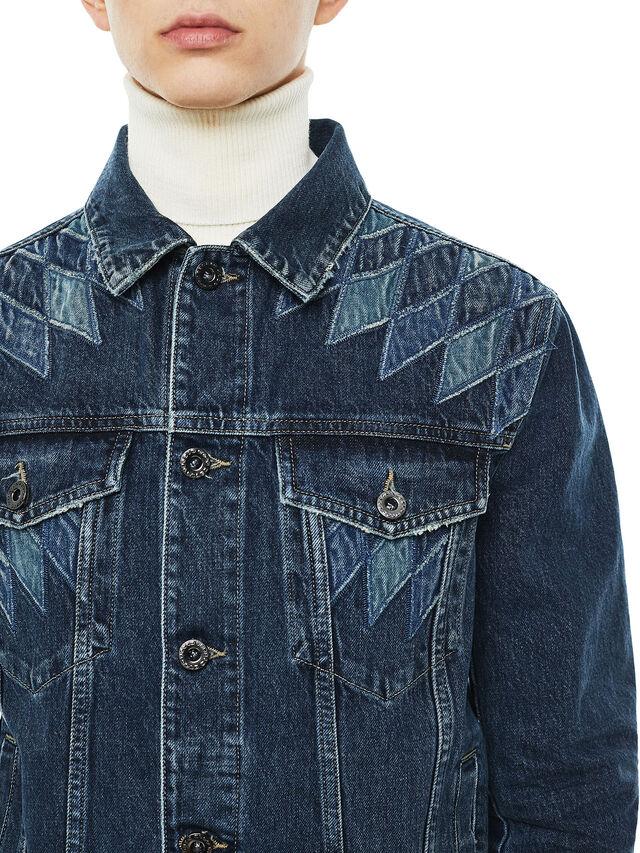 Diesel - JONDER, Blue Jeans - Jackets - Image 3