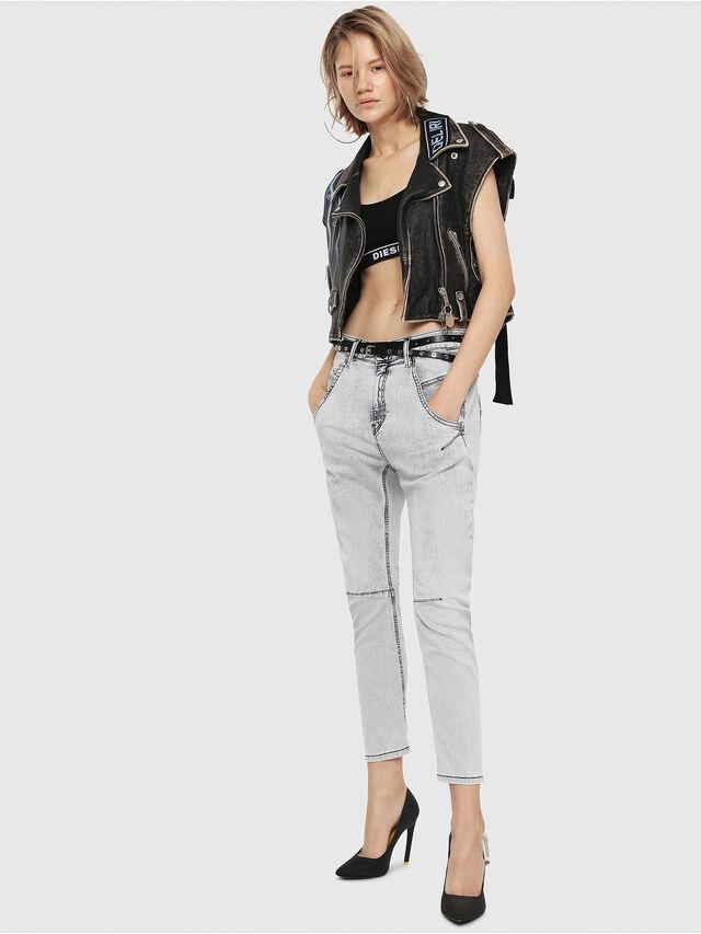 Diesel - Fayza JoggJeans 069FE, Light Blue - Jeans - Image 4
