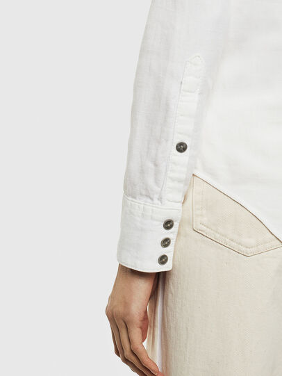 Diesel - DE-RINGY, White - Denim Shirts - Image 3