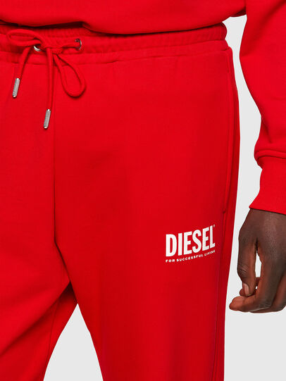 Diesel - P-TARY-ECOLOGO, Red - Pants - Image 3
