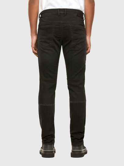 Diesel - Thommer JoggJeans 009IC, Black/Dark grey - Jeans - Image 2