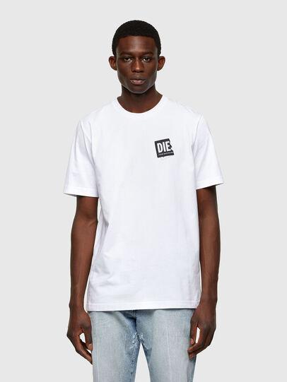 Diesel - T-JUST-LAB, White - T-Shirts - Image 1