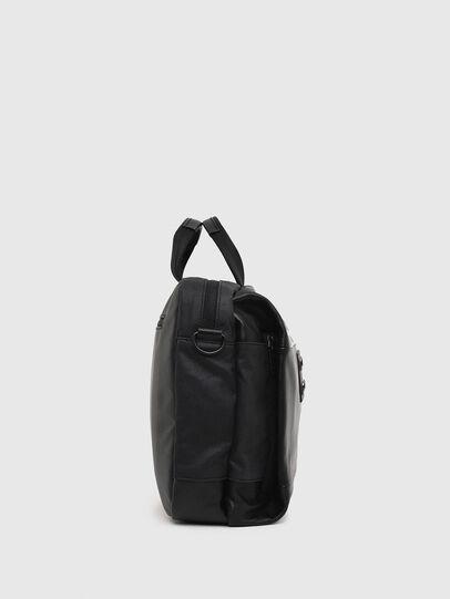 Diesel - D-SUBTORYAL BRIEF, Black - Briefcases - Image 3