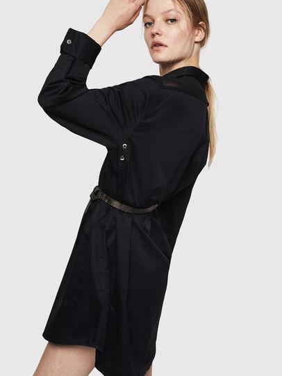 Diesel - D-FLOWY, Black - Dresses - Image 5