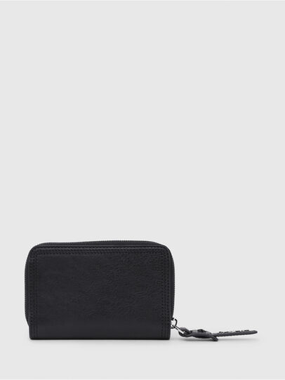 Diesel - BUSINESS II, Opaque Black - Small Wallets - Image 2