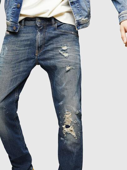 Diesel - Thommer 083AC, Dark Blue - Jeans - Image 3