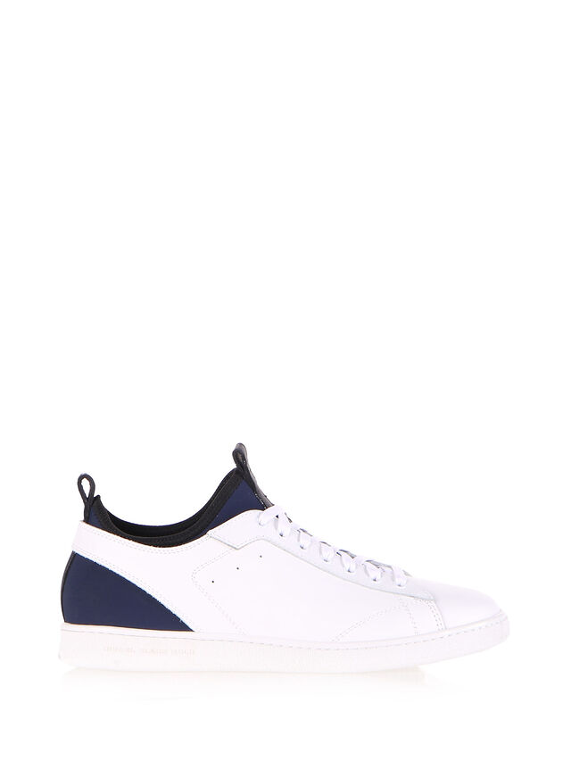 Diesel Black Gold S18ZERO, White - Sneakers - Image 1