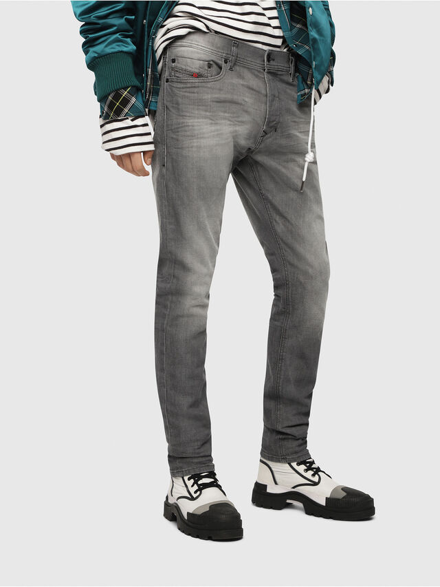 Diesel Tepphar 084HP, Light Grey - Jeans - Image 1