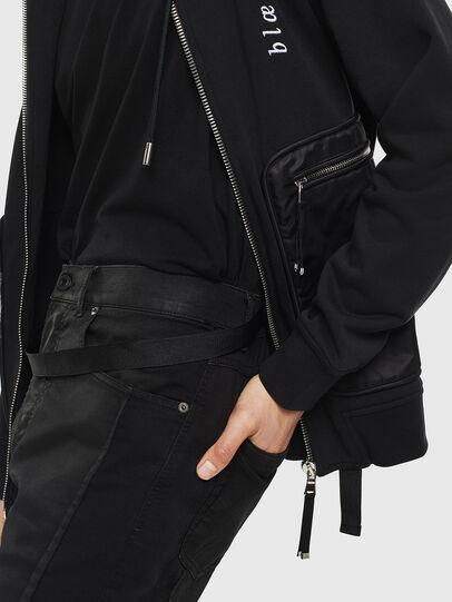 Diesel - S-SKRA, Black - Sweaters - Image 3