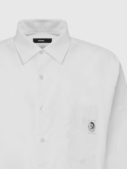 Diesel - S-LOOMY-A, White - Shirts - Image 3