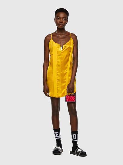 Diesel - D-BIANCA, Yellow - Dresses - Image 4