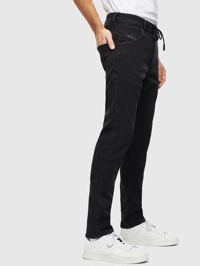 Diesel - Krooley JoggJeans 0687Z, Black/Dark grey - Jeans - Image 3