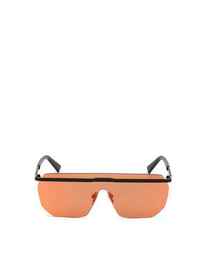 DL0259, Orange/Black - Sunglasses